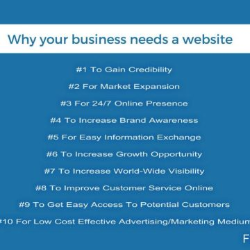 10 Reasons Your Business Needs A Website!