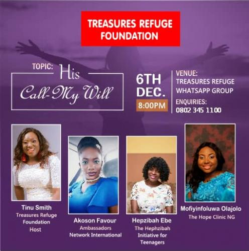 TREASURE REFUGE FOUNDATION