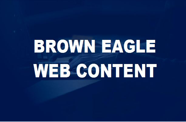 Brown Eagle Content